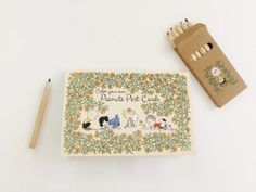 Coloring Book Set Price: $10 This year the Peanuts booth is offering an exclusive coloring book of intricately designed Peanuts post cards and a matching set of colored pencils.