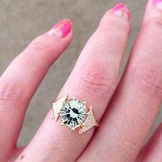 New tourmaline and diamond stunner / Larisa Laivins