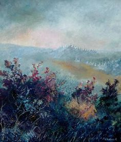 "Saatchi Art Artist Pol Ledent; Painting, ""Morning light"" #art"