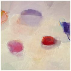 Sharon Paster Submerging Oil on canvas. 36 x 36