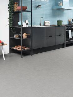 image 4 of 8 – Interfloor Modern Stone – kleur 594 – Uni dessin keuken Shelving, Cabinet, Storage, Uni, Modern, Kitchen, Furniture, Home Decor, Image