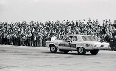 """Bill """"Grumpy"""" Jenkins' finest hour for his two-year involvement with Chrysler was a victory at Pomona in early 1965, driving a new A990 Plymouth called the Black Arrow to the Mr. Stock Eliminator crown."""