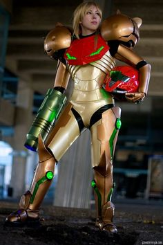 Metroid is a Japanese series of science fiction action-adventure video games by Nintendo. This game follows a bounty hunter Samus Aran who protects the galaxy from space pirates. This game allows the empowered women to play in a role like many fps games that only have a male role.