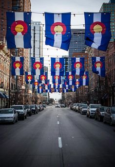 Colorado Pride! I love Larimer Square