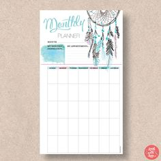 PERSONAL SIZE Printable Filofax Page Inserts. Fits the Filofax   Etsy Planner Template, Printable Planner, Printables, Erin Condren, Sunday To Saturday, Filofax Refills, Planners, Planner Organization, Art Journal Pages