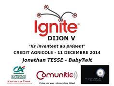 présentation de BABYTWIT, réseau de communication sécurisé pour l'école - Ignite Dijon #5 : Jonathan Tessé - BabyTwit - YouTube
