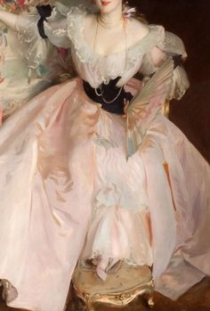 Detail) Singer Sargent - Mrs Carl Meyer and her Children