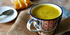 Hot, Spiced Turmeric Milk Recipe ~ I wanted to cradle a hot mug of goodness and wrap myself in a cozy blanket. This hot spiced turmeric milk is a perfect hot drink to cradle as the weather turns colder. Cinnamon, cardamom and turmeric warm you. Turmeric Drink, Turmeric Recipes, Rutabaga Recipes, Qinuoa Recipes, Milk Recipes, Brunch Recipes, Veggie Recipes, Healthy Food Swaps, Healthy Recipes