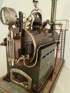 Große Bing Dampfmaschine , Lokomobil , steam engine , GBN , | eBay