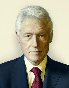 Bill Clinton by Nadav Kander