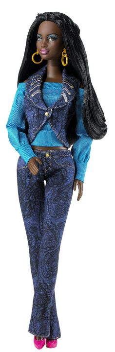 AmazonSmile: Barbie S.I.S. So In Style Rocawear Chandra Doll: Toys & Games