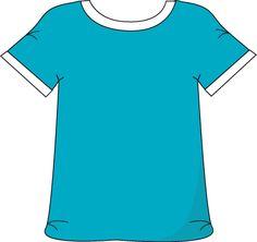 Blue Tshirt White Collar White Collar