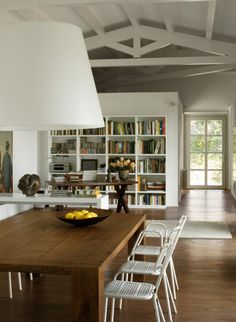 I love the airy feeling of this space, still warm.