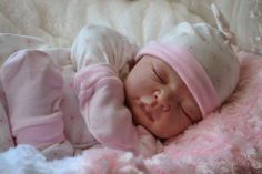 """~*Katescradles*~ """" Nancy"""" by Adrie Stoete - Reborn Baby girl - Newborn beauty !!"""