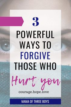 Christian Quotes:Here are 3 powerful ways to start the forgiveness process towards someone who hurt you. Forgiveness Scriptures, Scripture Quotes, Bible Verses, Christian Faith, Christian Quotes, Christian Living, Christian Marriage, Christian Encouragement, Words Of Encouragement