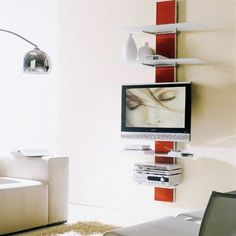 tv stand for small spaces | ... those of us who are looking for interior decorating ideas for small