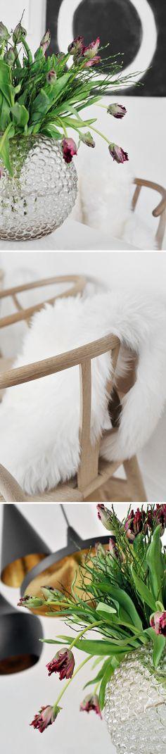 From Svenskt tenn. Scandinavian Interior Design, Swedish Design, Interior Design Living Room, Living Room Inspiration, Interior Inspiration, Magical Home, Natural Interior, Roomspiration, Flower Decorations