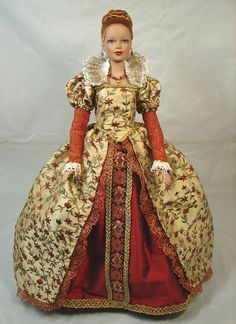 Elizabethan.  I have to make an Elizabethan costume for a Barbie in costuming.  i need some ideas...