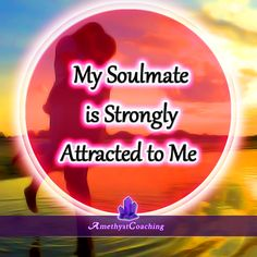 Soulmate and Love Quotes : QUOTATION – Image : Quotes Of the day – Description Soulmate Quotes: Todays Affirmation: My Soulmate Is Strongly Attracted To Me Sharing is Power – Don't forget to share this quote ! Morning Affirmations, Love Affirmations, Law Of Attraction Affirmations, Positive Life, Positive Thoughts, Positive Quotes, Chakras, The Secret, Meditation