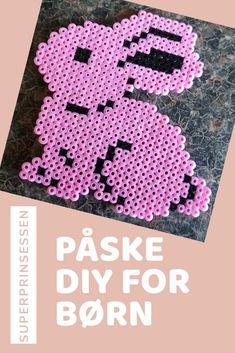 #hama #påskehare #påske #diyforkids Pastel, Kids Rugs, Diy, Home Decor, Cake, Decoration Home, Kid Friendly Rugs, Bricolage, Room Decor