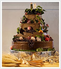 Top Fruit Wedding Cakes 5