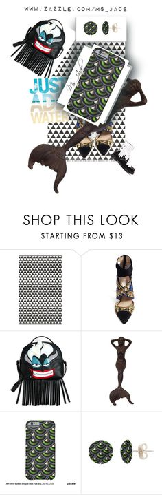 """""""Scales and Tails by Ms_Jade"""" by ms-jade-1 ❤ liked on Polyvore featuring Beija Flor, Nicholas Kirkwood, Danielle Nicole and Dr. Martens"""
