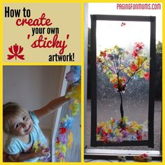 Sticky Window Art