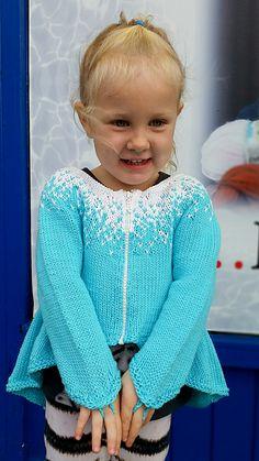 Ravelry: Elsa Cardigan - Frozen pattern by Helga Linnet