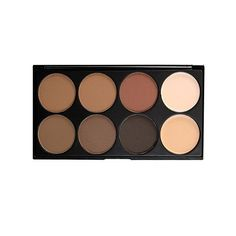 Morphe Brow 8 Powder Palette (Brow8) ($15) ❤ liked on Polyvore featuring beauty products, makeup, palette makeup, eye brow makeup, morphe makeup, brow makeup and eyebrow makeup
