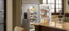 Visit a Monogram Design Center to experience Monogram appliances in person. Monogram Appliances, English Country Kitchens, Kitchen Pictures, Monogram Design, Kitchen Styling, Kitchen Design, England, Architecture, Table