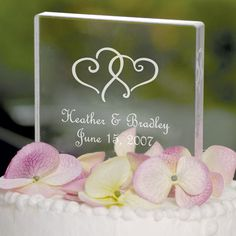 Monogram Wedding Cake Toppers Pictures