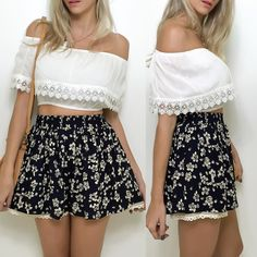 Blusa ciganinha  shorts saia  bolsa.  Compre pelo site http://ift.tt/PYA077 ou mande um whats 47 99531716.
