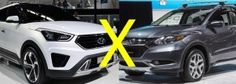 Hrv ou ix35 comparativo