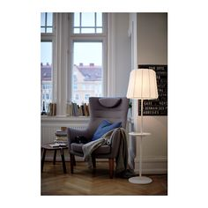 how about the fatolj you want by the window + this wireless charging station / golvlampa (or this floor lamp to the other window close to balcony)? :D @marcusdanielsso