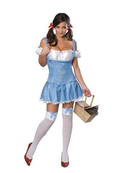 It might seem silly, but I want to be able to buy a Halloween costume off the rack and fit into it.