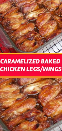 Caramelized Baked Chicken Wings – Laura Recipes Source by Honey Garlic Chicken Wings, Baked Chicken Legs, Best Baked Chicken Wings, Yummy Chicken Recipes, Chicken Receipe, Yummy Recipes, Recipies, Comida Boricua, Sandwiches