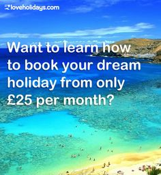 With our interest free monthly payment plans, you can book you dream holiday for less than you think! - find out how here. Travel Guides, Travel Tips, Us Travel, Travel Inspiration, Dreaming Of You, How To Plan, Holiday, Books, Fun