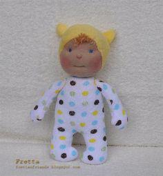 Baby Doll by FrettasLovableDolls on Etsy, $15.00