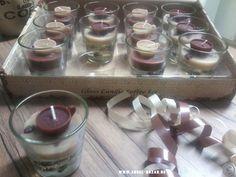 ♥ 2 himmlische Kaffee KERZEN im Glas ♥ Im Kerzenboden sind Kaffeebohnen eingearbeitet, obendrauf drohnt eine kleine Kaffeeetasse www.angel-bazar.de