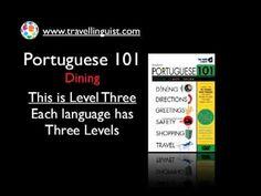 Portuguese 101 - Dining - Level Three