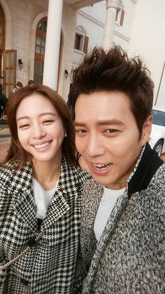Joo Sang-wook & Han Ye-seul