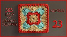 365 Days of Granny Squares Number 23