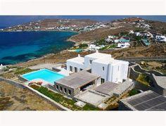 Traditional Mykonian style property for sale in Aleomandra, Mykonos Island, Greece. viewofwater.com