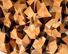 Wood Lowpoly Wallpaper