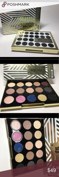 NIB Urban Decay Gwen Stefani Palette 100% Auth NIB Urban Decay Gwen Stefani Palette - Includes 15 Eyeshadows  100% Authentic  Brand new, never used or tested.  Please see pictures as this is the actual item you will receive. Please feel free to ask any questions and I will get back to you as soon as possible. Thank you!  Happy Poshing  Urban Decay Makeup Eyeshadow