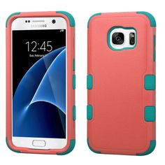 MYBAT TUFF Samsung Galaxy S7 Case - Baby Red/Teal