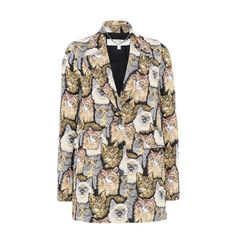 Shop the Cat Jacquard Daria Coat by Stella Mccartney at the official online store. Discover all product information.