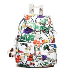 Kipling    Summer 2013    Firefly Backpack, Frond Print