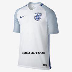Nouveau Maillot De Foot équipe d Angleterre UEFA Euro 2016 Domicile pas  cher Camisetas De 365d630ae9df8