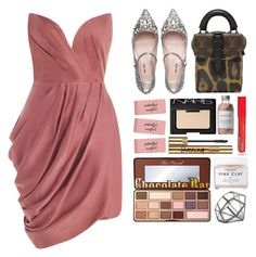 """""""5.980"""" by katrinattack ❤ liked on Polyvore featuring Zimmermann, Miu Miu, Louis Vuitton, NARS Cosmetics, Too Faced Cosmetics, Yves Saint Laurent, Herbivore, NKUKU, L.A. Colors and French Girl"""